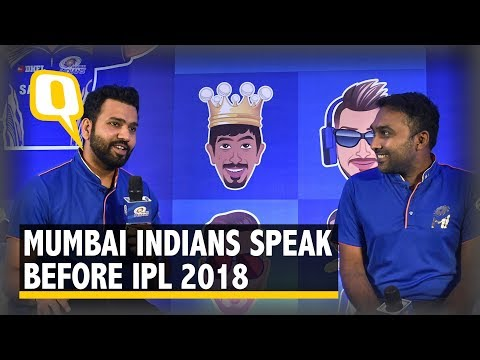 IPL 11: Mumbai Indians' Rohit Sharma and Mahela Jayawardene Speak | The Quint