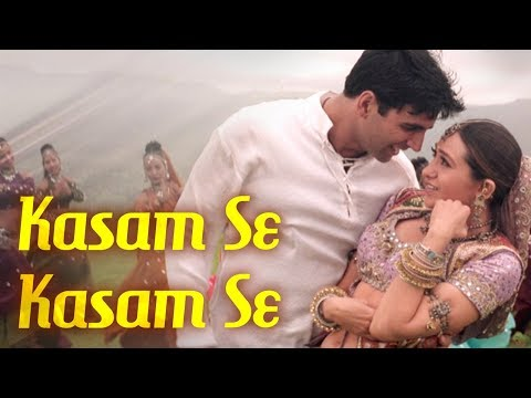 Kasam Se Kasam Se - Jaanwar Songs {HD} - Akshay Kumar - Karisma Kapoor - Udit Narayan - Gold Songs