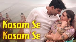 Download Lagu Kasam Se Kasam Se | Jaanwar Songs | Akshay Kumar | Karisma Kapoor | Udit Narayan | Gold songs MP3
