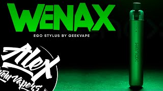 ХОЧЕШЬ БРОСИТЬ КУРИТЬ Geekvape Wenax Stylus l Alex VapersMD review
