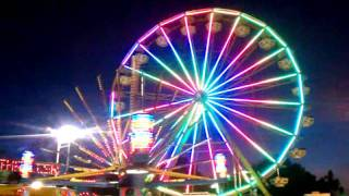 San Mateo County California Fair Grounds Ferris Wheel