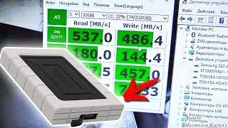 "ORICO против ""NONAME"" производителя. Защищенный бокс ORICO 2539U3-BK для SSD и HDD 2.5"""
