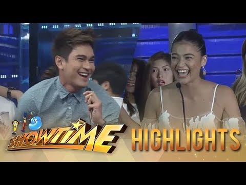 It's Showtime PUROKatatawanan: Luke secures a point with his