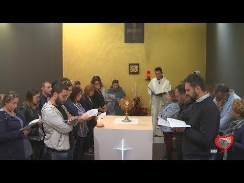 ADORAZIONE EUCARISTICA DALLA CAPPELLA DI CASA ACCOGLIENZA SANTA MARIA GORETTI