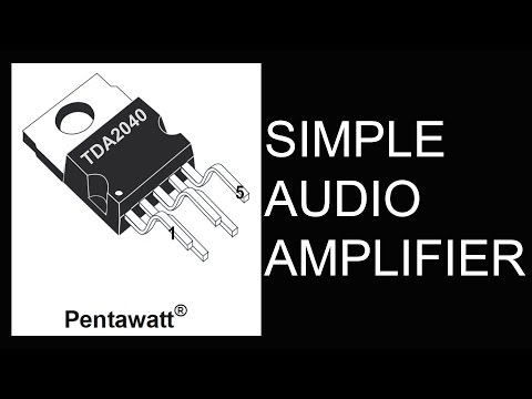 how to make simple hi fi audio amplifier(hd) youtube