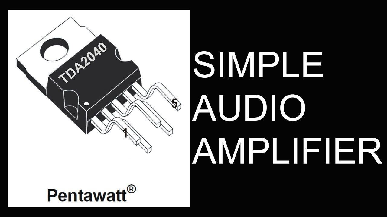 How To Make Simple Hi Fi Audio Amplifierhd Youtube Stk Amplifier Scheme