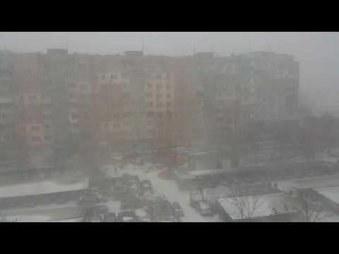 Odessa Christmass snow storm 2017-JAN-06