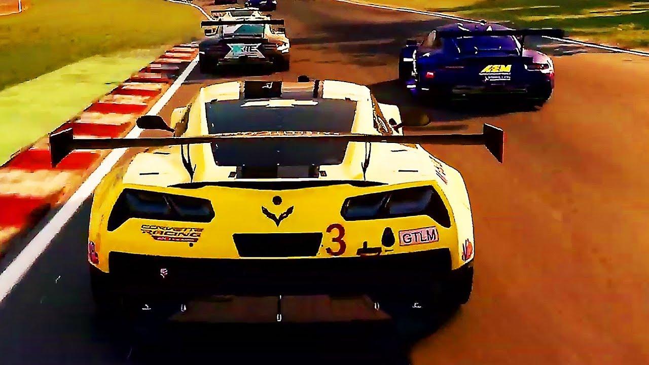 Grid Chevrolet Corvette C7r New Gameplay 2019 Ps4