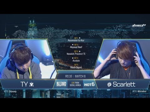[GSL vs. the World 2017] Ro.16 Day2 Match2 TY vs Scarlett