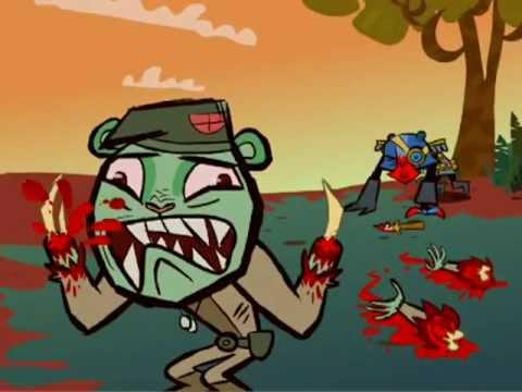 Happy Tree Friends - Ka-Pow! Operation Tiger Bomb