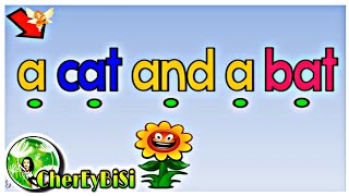 SIMPLE PHRASES IN ENGLISH | Reading Practice for Kindergarten and Grade 1| Video 1 | Cher Ey Bi Si