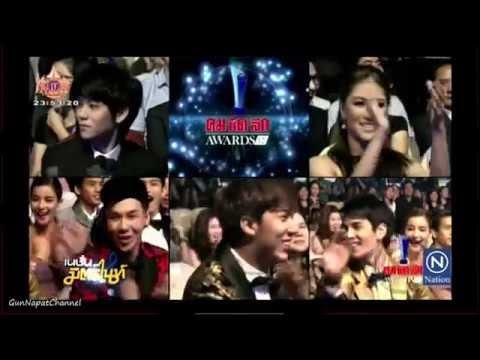 กัน นภัทร รับรางวัล นักร้องเพลงไทยสากลยอดนิยม คมชัดลึกอวอร์ด ครั้งที่ 12