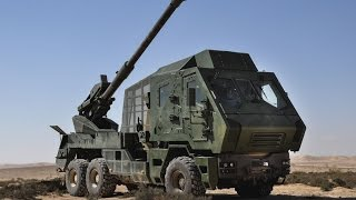 New Atmos Canon 2000 6x6 artillery system - Israeli Army