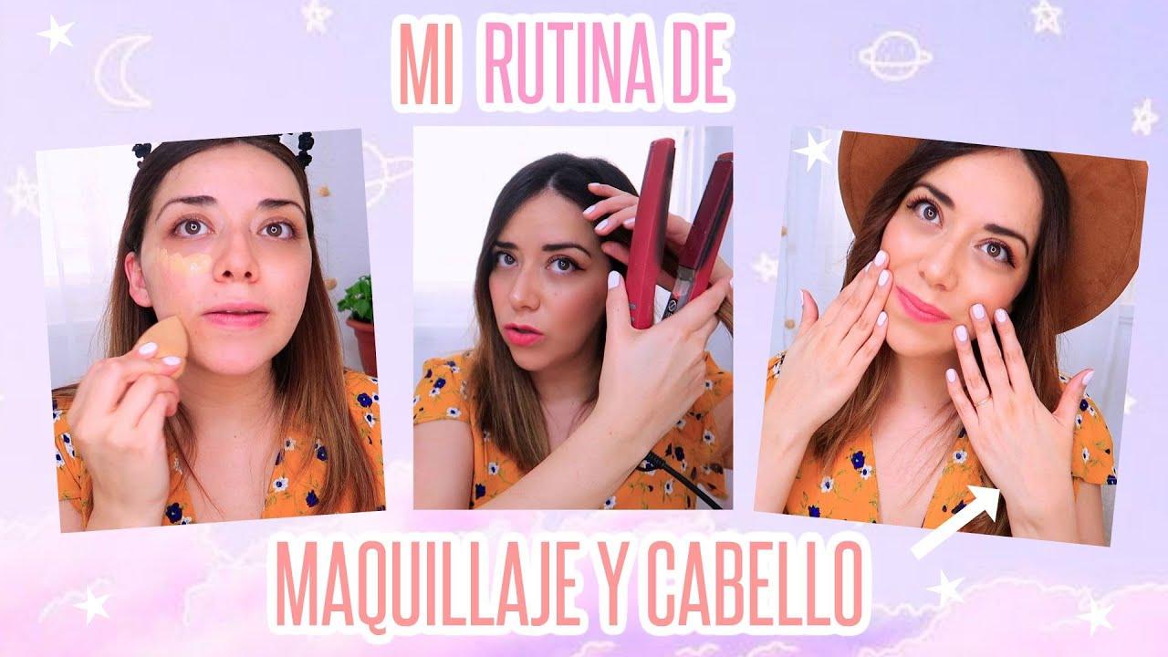 Mi rutina completa de belleza diaria maquillaje y peinado 2020 ! erika zarate