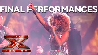 Top 5 Best Final Performances | The X Factor UK