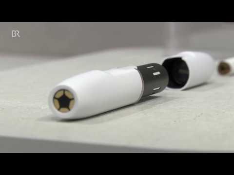 Zigarette IQOS: weniger