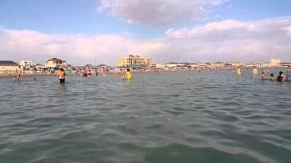 Каспийское море 2015, Казахстан г. Актау(РК г.Актау. Каспийское море 21.06.2015. Пляж между пляжами