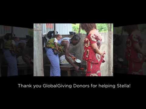 Stella Says Thank you for Microfinance Loan
