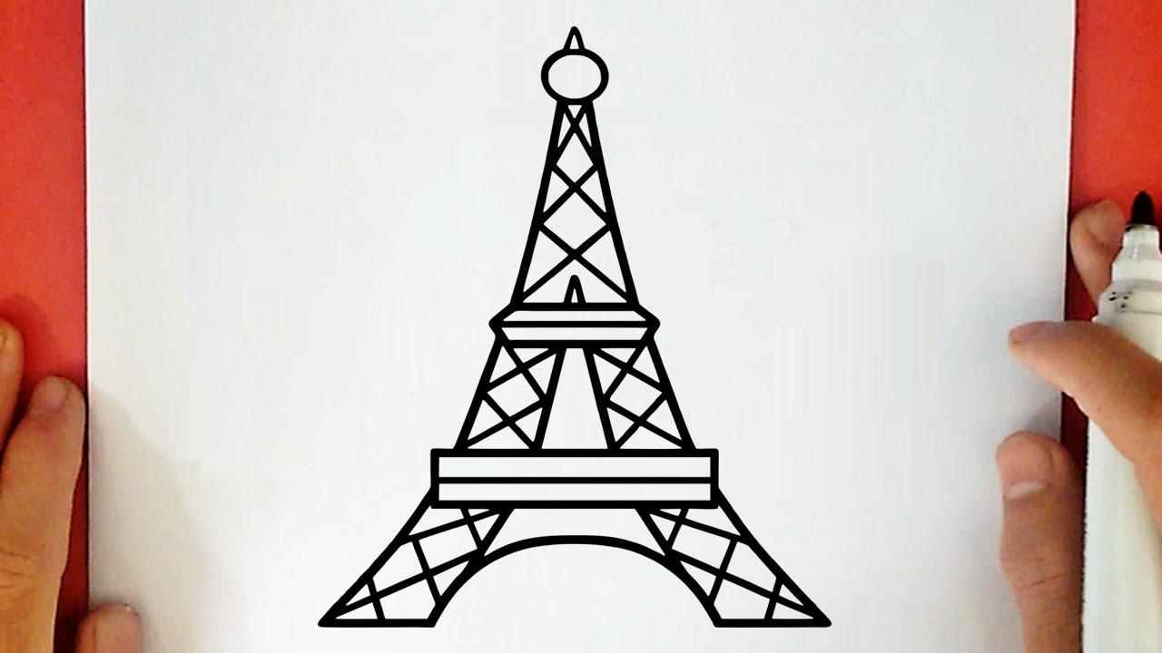 Como Dibujar La Torre Eiffel Youtube