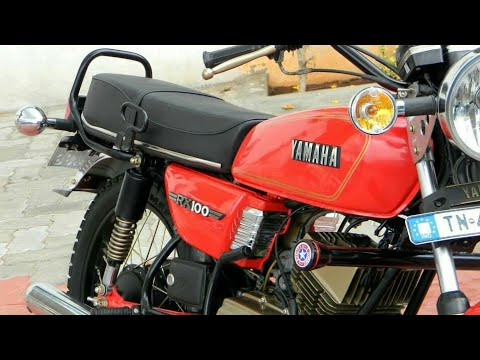 yamaha rx100 modified 2 stroke bike youtube