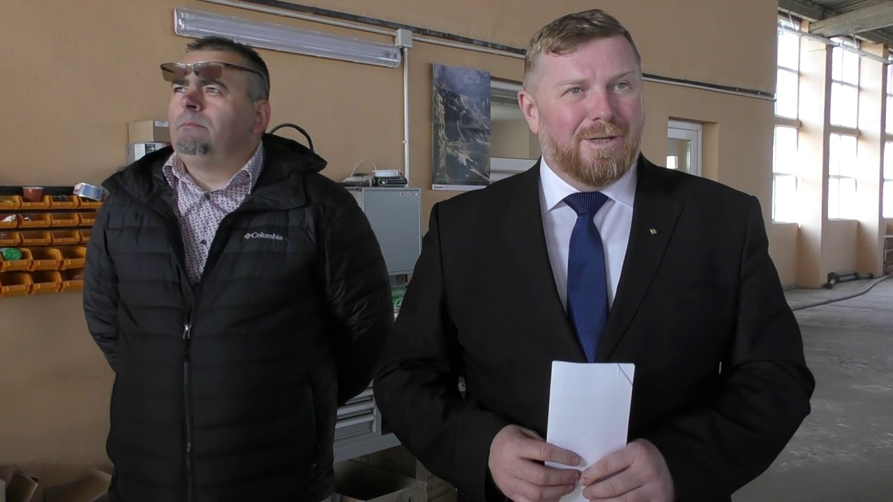 Interviu primar Dorin Lojigan - Parcul Industrial Câmpia Turzii  (29.03.2019)