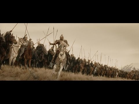 LOTR The Return of the King - The Ride of the Rohirrim