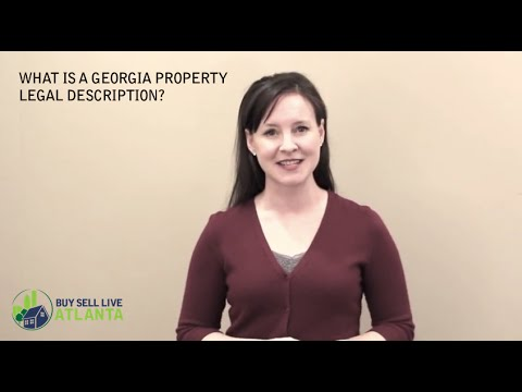 What is the Georgia Property Legal Description? | Maura Neill, REALTOR