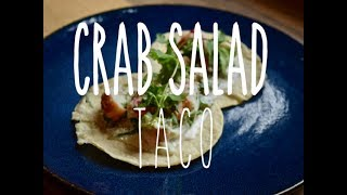 Taco Tuesday: King Crab Salad Tacos