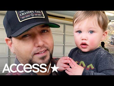 Jason Aldean's Son Memphis Gives His Newborn Baby Sister Some 'Sugar' In Adorable Video! Mp3