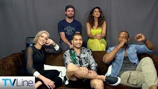 Arrow Cast Previews Final Season 8 | Comic-Con