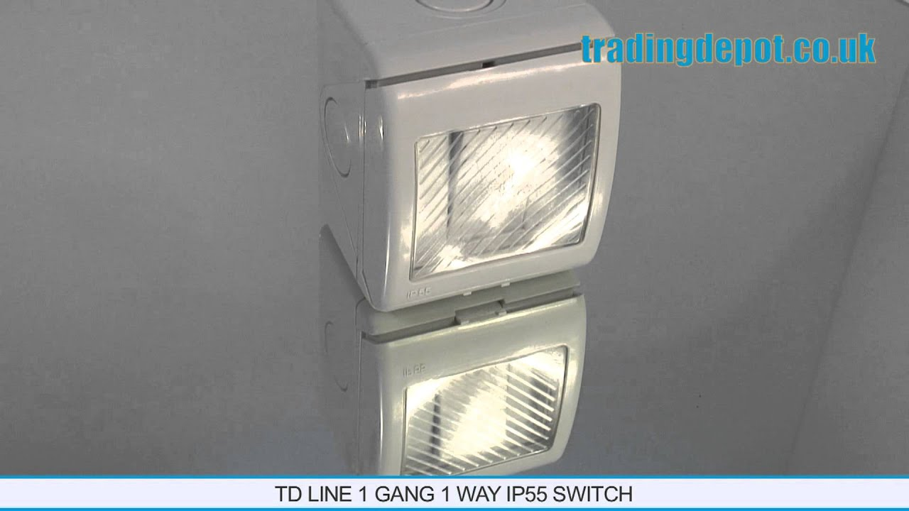 TRADING DEPOT: TD Line 1 Gang 1 Way IP55 Switch Part no: TLUKW ...