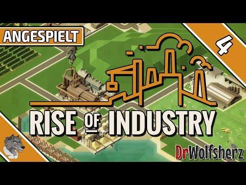 Rise of Industry (Alpha 3) | #4 - Güterverkehr via Eisenbahn | Angespielt