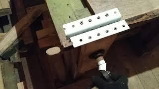 Самодельные тиски из металла и дерева без сварки