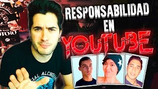 Youtubers tóxicos y responsabilidad en Youtube