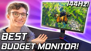 The Budget Gaming Monitor You've Been Waiting For! - AOC 24G2U Review! (144hz IPS Setup)