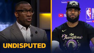 Skip & Shannon make predictions for how many Titles LeBron's Lakers will win | NBA | UNDISPUTED