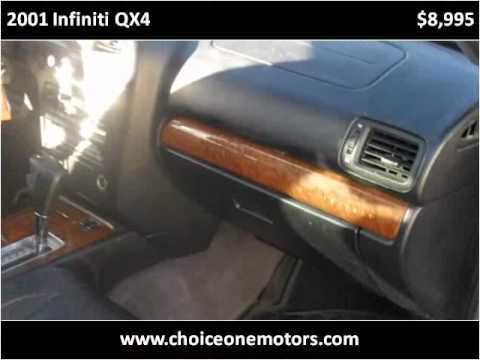 2001 Infiniti Qx4 Available From Choice One Motors Youtube