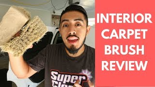 Carpet Scrub Brush REVIEW: My Most Used Brush For Interior Cleaning