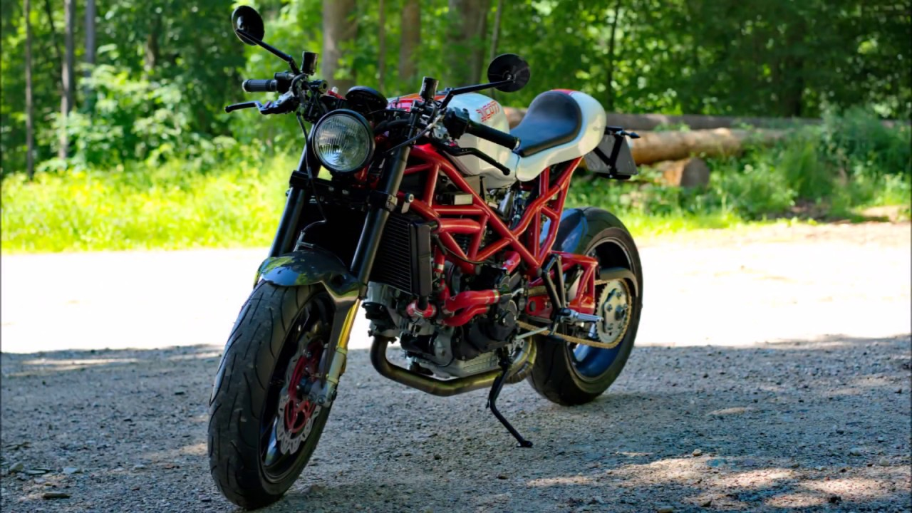 Ducati St2 Cafe Racer Build Youtube