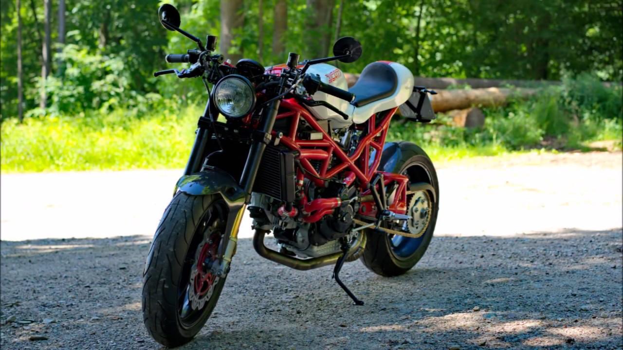 Ducati St2 Cafe Racer Build