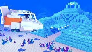 ERKUNDEN mit einem ECHTEN U-BOOT! - Minecraft 1.13 [Deutsch/HD]
