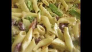 Vegetarian Pasta Salad W/sauteed Onion & Garlic