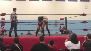 Kimber Lee vertical suplex collection
