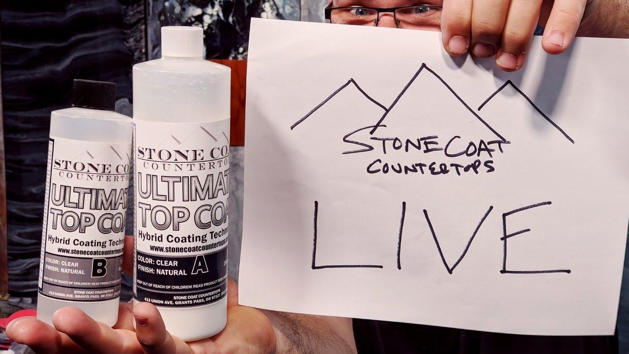 Stone Coat Training: Ultimate Top Coat Application   Stone Coat Epoxy