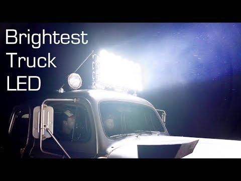 Worlds Brightest LED Light Bar - 4kW LED Array