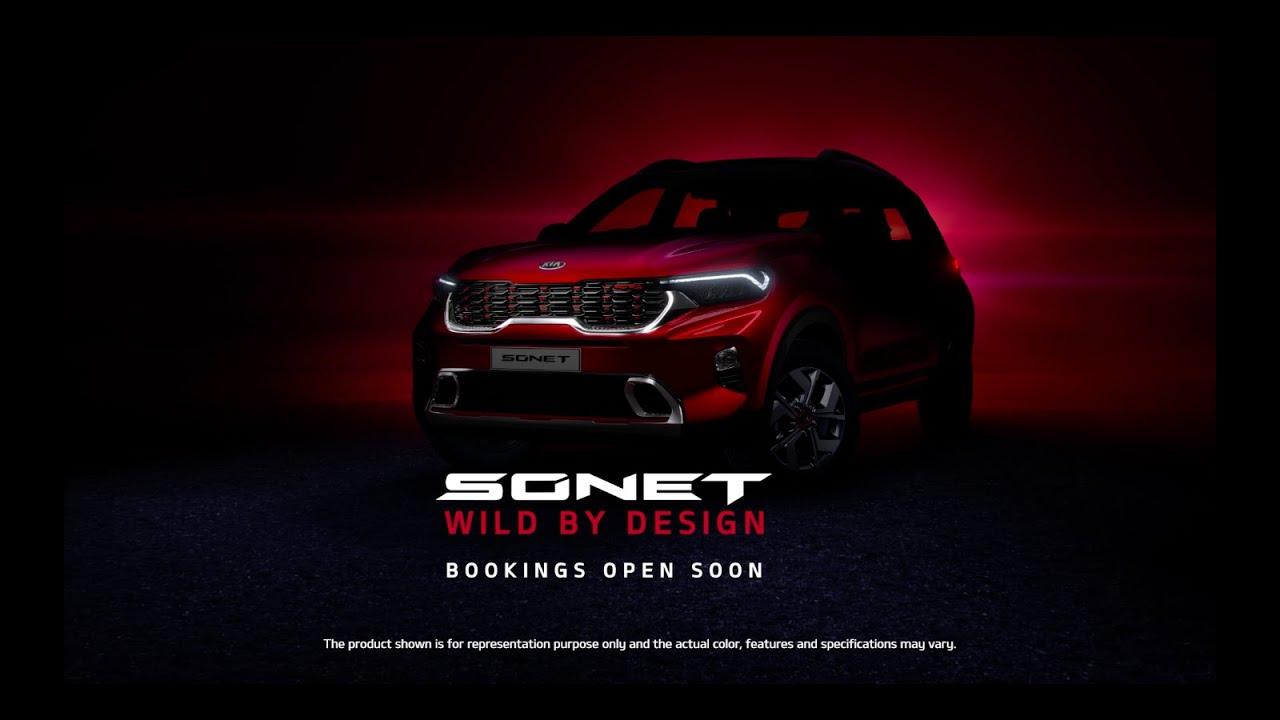Kia Sonet | Bookings Open Soon | #WildByDesign
