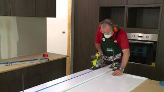 How To Install An Acrylic Splashback - Diy At Bunnings