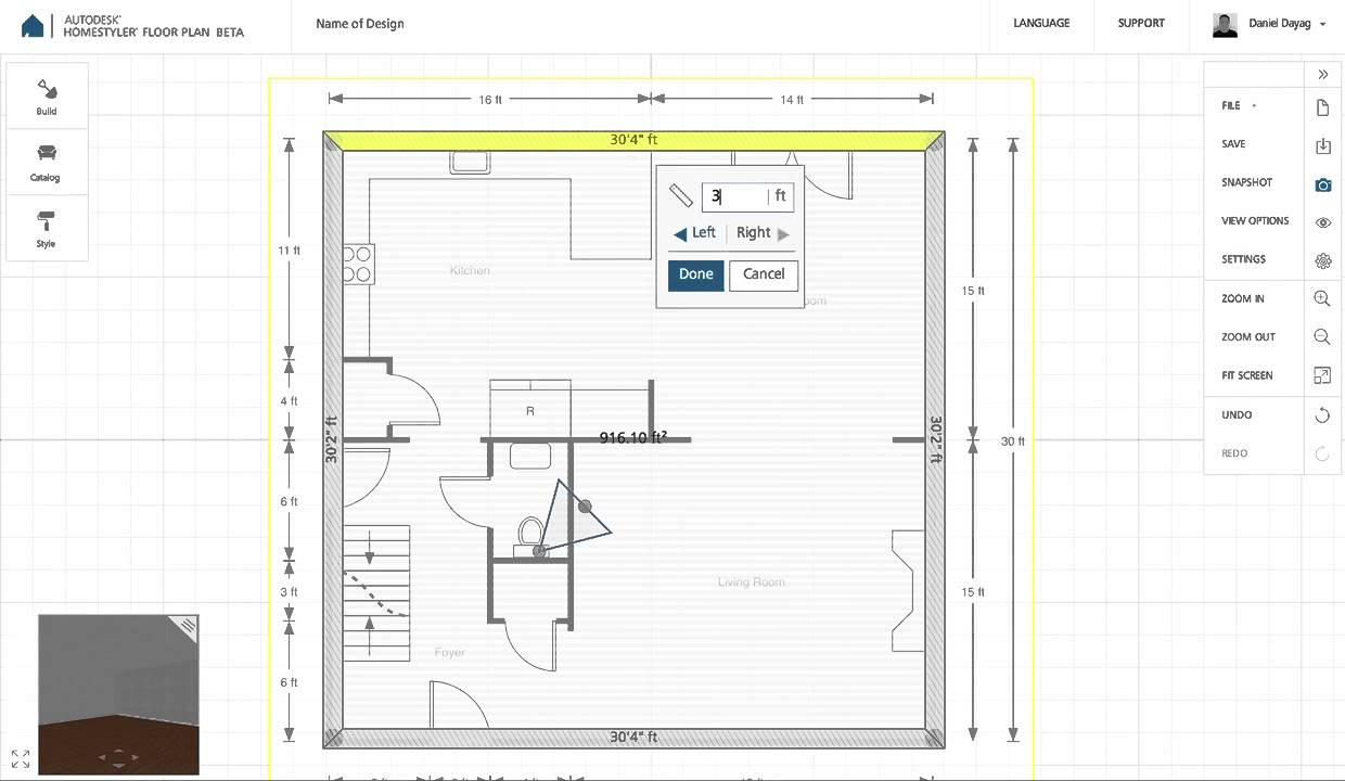 Homestyler Floor Plan Beta: How To Upload Background Image   YouTube