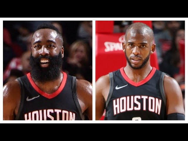 James Harden and Chris Paul Each Score 28 Pts in Win vs. Spurs | December 15, 2017