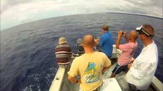110lb marlin caught 8-31 from Hagatna Guam